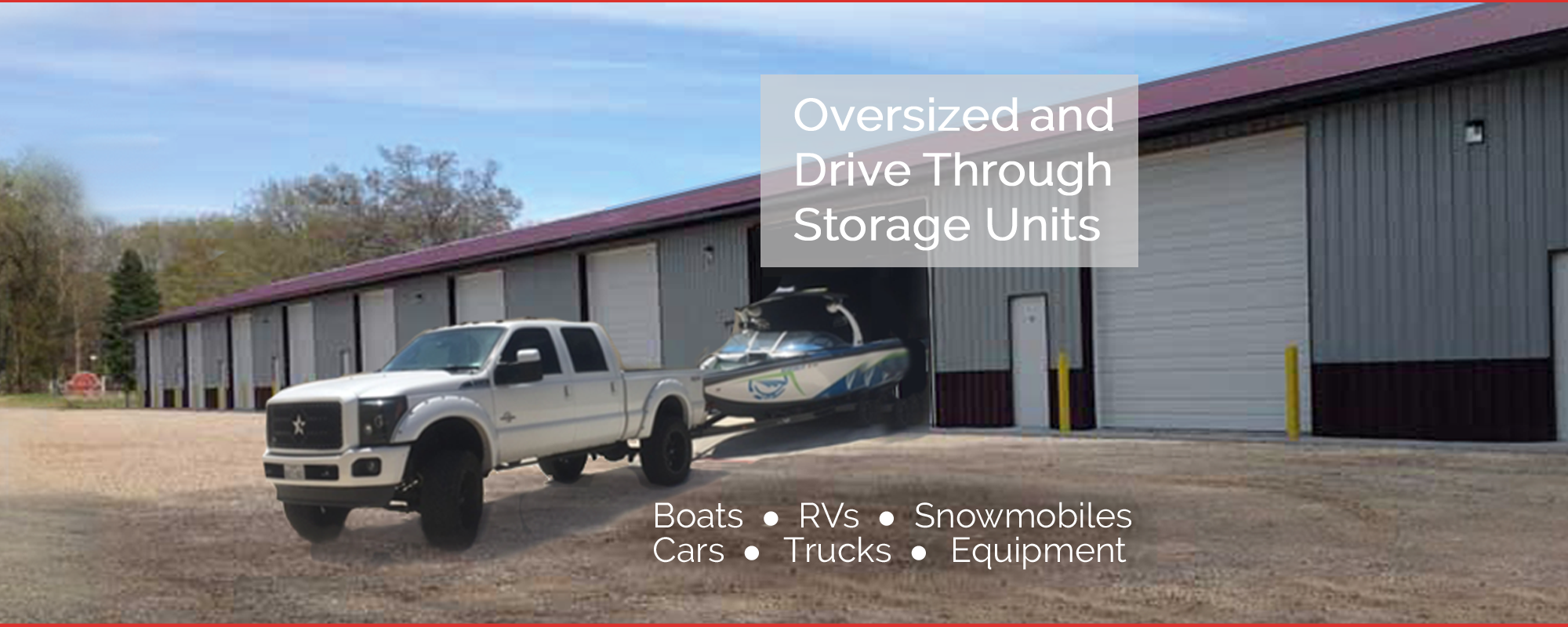 Higgins Lake & Houghton Lake Storage